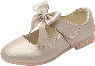 La Vogue Zapatos Zapatilla con Lazo para Niña Princesa Fiesta
