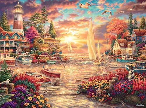 Buffalo Games - Chuck Pinson - Into The Sunset - 1000 Piece Jigsaw Puzzle