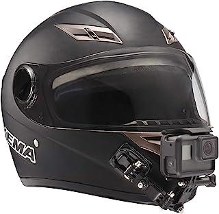 Lupholue Casco para Motocicleta Barbilla giratoria Kit de Montaje de rotación de pivotes de 3 vías Compatible with GoPro H...