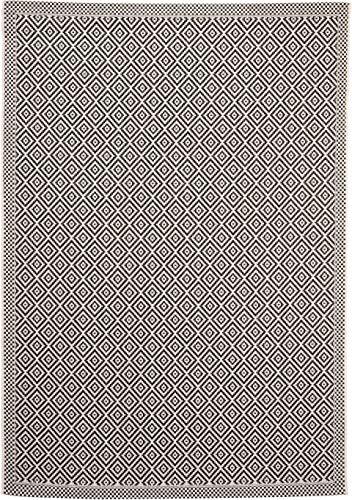 benuta In- & Outdoor-Teppich Cleo Weiß/Schwarz 160x230 cm