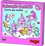 Haba- Juego de mesa, Unicornio Destello - Torre de Nubes, Multicolor (Habermass H304542) , color/modelo surtido
