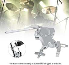 cary-yan Rim Clamp Drum Set Zinc Alloy Drum Expansion Clips Percussion Accessories Universal for All Types of Brackets 13.616.52.6CM dependable