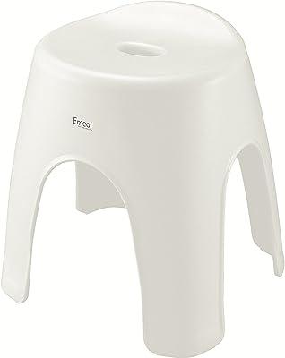 アスベル 風呂椅子 エミール 高さ35cm Ag 抗菌 ホワイト