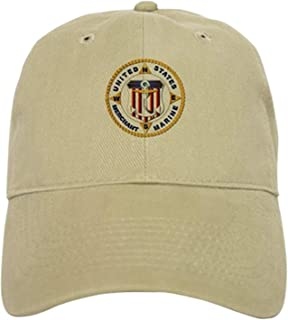 Emblem - US Merchant Marine - USMM Cap - Baseball Cap with Adjustable Closure, Unique Printed Baseball Hat