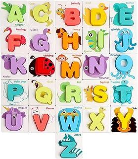Tomaibaby 1 Set Leren Bijpassende Kaarten Woordspelling Speelgoed Letters Puzzelspellen Voor Kinderen Educatief Voorschool...