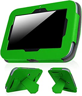 Fintie Leapfrog Epic Case - Premium PU Leather Standing Carrying Cover with Car Headrest Mount Holder Function for Leapfrog Epic/Leapfrog Epic Academy Edition 7
