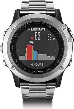 Refurb Garmin Fenix 3 HR GPS Watch with Titanium and Sport Bands