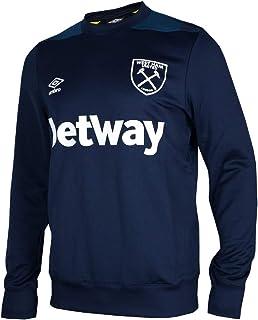 Umbro West Ham United Sweatshirt Dark Blue WUFC Jumper Hammers Merchandise