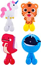 Farber Baby Toothbrush Holder, Kids Toothbrush Holder Set with Suction Cup Hook | Kids Bathroom Accessories and Décor | Un...