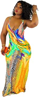 Womens Sexy Summer Tank Dress Letter Print Sleeveless Bodycon Midi Party Dresses