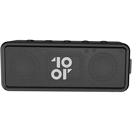 10.or Rave+, Bocina Portátil Bluetooth, resistente al agua