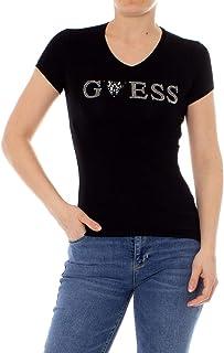 231e1fc347 Amazon.fr : Guess - T-shirts, tops et chemisiers / Femme : Vêtements