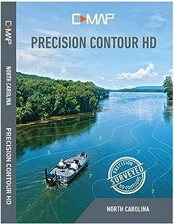 C-MAP M-NA-Y704-MS Max-N+, Precision Contour HD, North Carolina