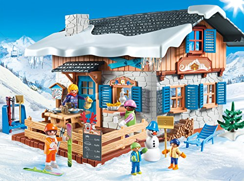 The Playmobil Ski lodge is one of last years favorite new Playmobil playsets