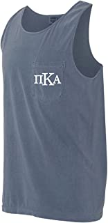 PI Kappa Alpha Pike Fraternity Comfort Colors Pocket Tank Top