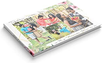 "Presto Personalized Photo Book Album for Birthday | Weddings | Vacations (8"" x 11"")"