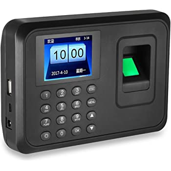 Fingerprint Access Control Employee Time Attendance 2.4 Inches TFT Screen Access Controller Biometric Fingerprint Time Clocks