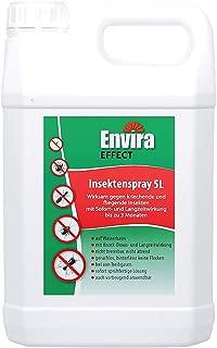 Envira Effect Ungeziefer-Gift 5Ltr - Universal-Insektizid - Insektenspray Mit Langzeitwirkung - Anti-Insekten-Mittel Auf Wasserbasis