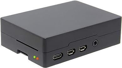 Geekworm Raspberry Pi 4B(ラズベリーパイ) アルミメタルケース、パッシブ冷却ケース、ラズベリーパイ4モデルBのみ適用