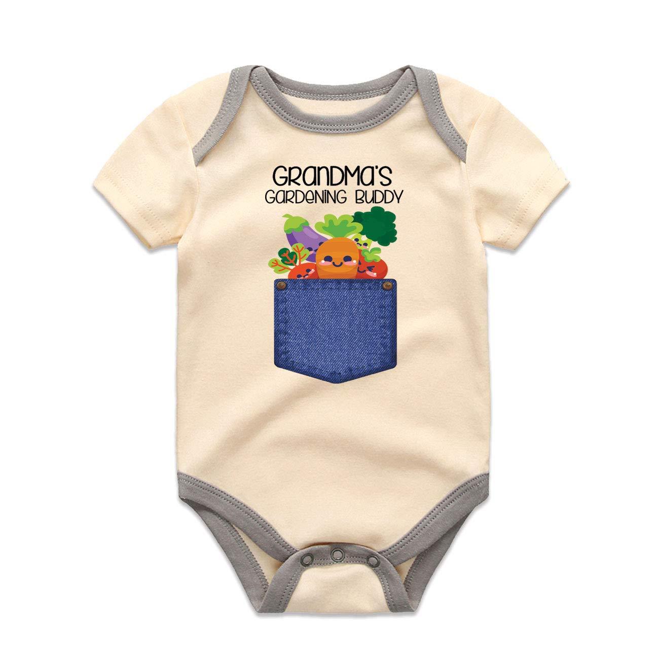 Grandma's Gardening Buddy Onesie® Grandma Max 70% OFF and Romper Fruits Trust