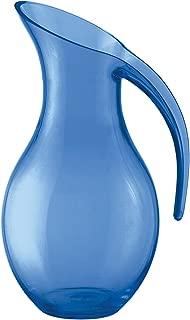 Guzzini Happy Hour Mediterranean Blue Acrylic 54-Ounce Blown Jug