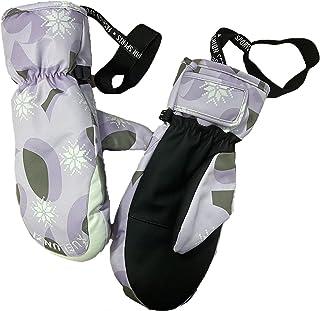 SLDHFE Gants de ski, 26,9 cm, gants de snowboard imperméables, coupe-vent et chauds, gants d'hiver pour écran tactile, gan...