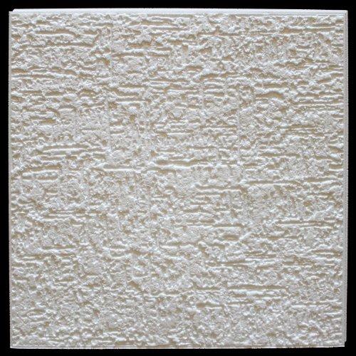 20 qm | Deckenplatten | EPS | formfest | Marbet | 50x50cm | Terra