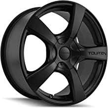 Touren TR9 (3190) Matte Black: 17x7 Wheel Size; 5-100/5-114.3 Lug Pattern, 72.62mm Bore, 42mm Offset.
