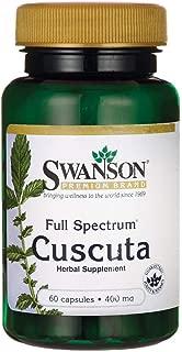 Swanson Full Spectrum Cuscuta 400 Milligrams 60 Capsules
