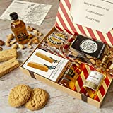 Whisky Lovers Letter Box Hamper - Ideal gift for Whisky lovers with Jura and Macallan Single Malt Whisky Hassle Free, Simple delivery Through The Letter Box