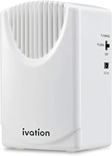 Ivation Vehicle Air Cleaner Ozone & Plasma Generator 300 MG/H, Air Ionizer & Odor Eradicator with Home & Car Power Cords, ...