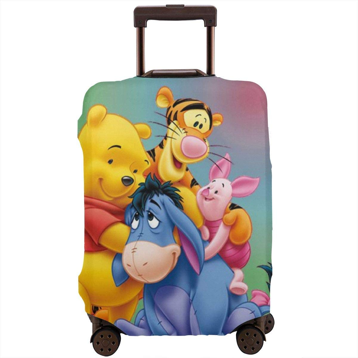 Travel Luggage Cover Excellent Winnie The Protec Friends And Denver Mall Pooh Suitcase