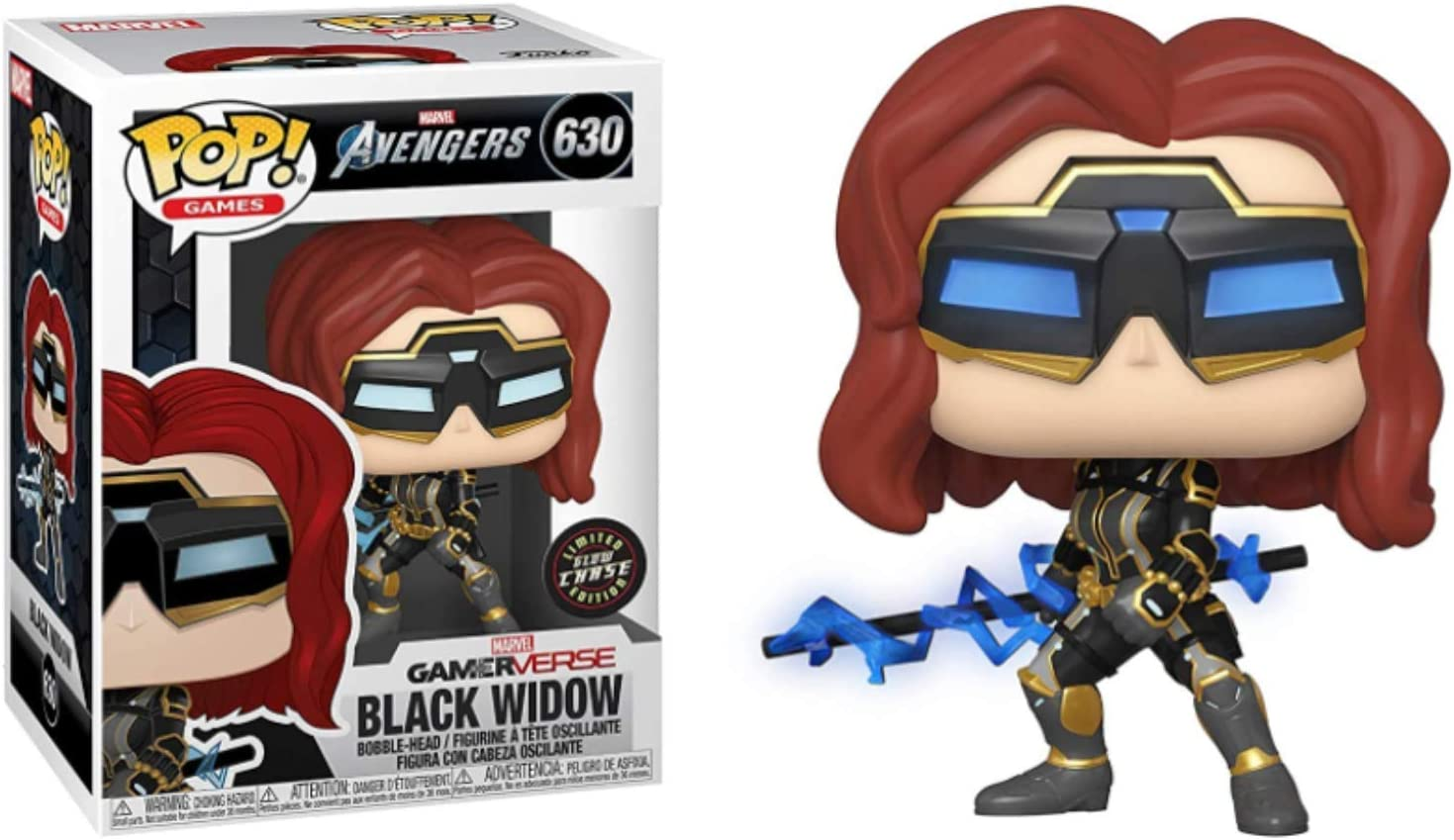 Funko POP Games New New product! New type York Mall Black Widow 3.75