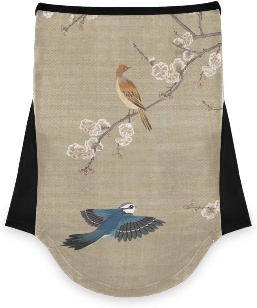 DAOXIANG Chinese New Free Shipping Painting Bird Plum Fac Ice Nashville-Davidson Mall Silk Multifunctional