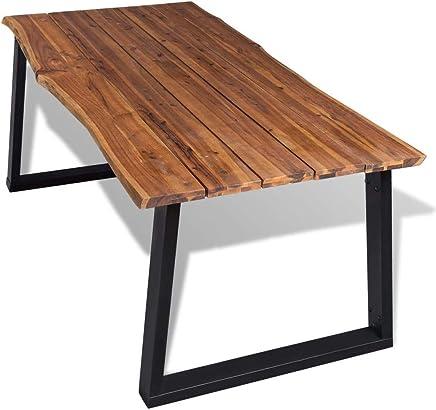 Amazon.it: tavolo legno massello - Tavoli da sala da pranzo ...