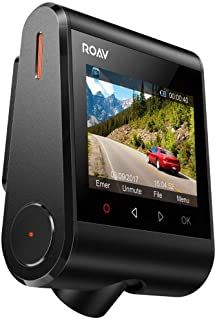 Roav by Anker Dash Cam C1, Car Recorder with Sony Sensor, 1080P FHD, 4-Lane Wide-Angle View Lens, Built-in WiFi with APP, G-Sensor, WDR, Loop Recording, Night Mode, Parking Mode [Upgraded Version]