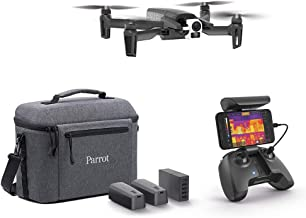 Parrot - Thermal Drone 4K - Anafi Thermal - 2 High Precision Cameras - Thermal Camera -14°F to...