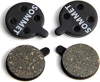 2 Pares SOMMET Pastillas Freno Disco Semi-metálico para Zoom DB-280/350 / 450/550 / 650 / Alongha SNG/Apse/Artek Apollo/Shockwave/X-Rated