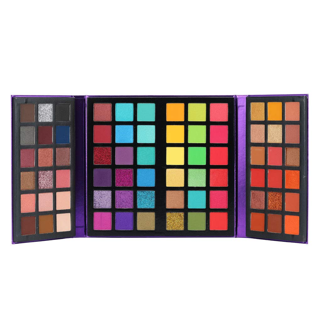 Professional Highly Pigmented Eyeshadow Palette Colors 72 Year-end gift Special price for a limited time ULTRA