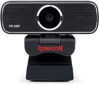 Webcam Gamer e Streamer Redragon Hitman 1080p GW800