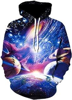 Men's Long Sleeve 3D Black Turbo Novelty Hoodies Funny Graphic Print Hooded Pullover Sweatshirt