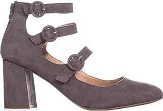 Esprit Lucy Block-Heel Pumps, Light Grey, Size 7.5