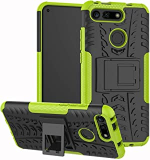Huawei Honor View 20 / Honor V20 Case, CaseExpert Heavy Duty Shockproof Rugged Impact Armor Hybrid Kickstand Protective Cover Case for Huawei Honor View 20 / Honor V20 Green 201903050SEG011