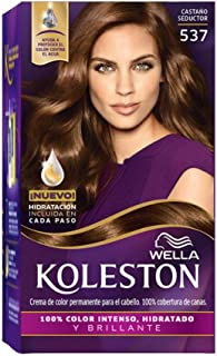 Wella Koleston Coloracion Permanente en Crema, 537 Castaño Seductor