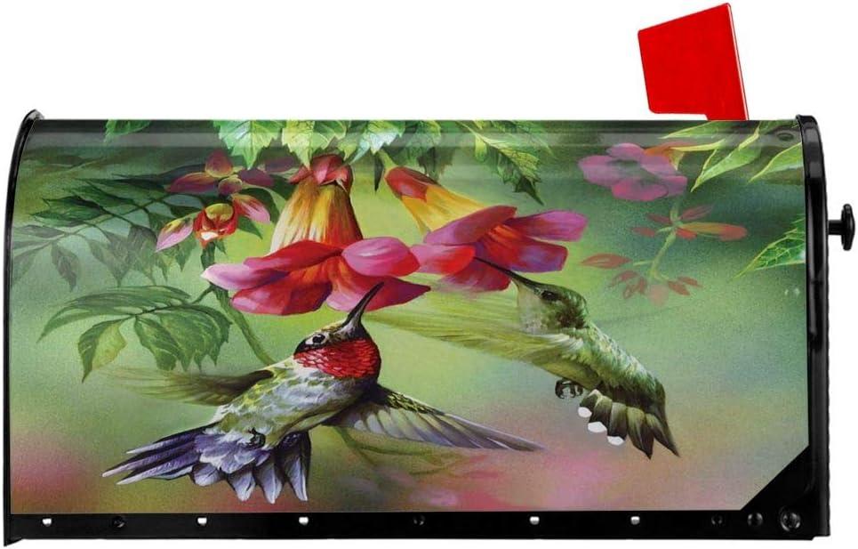 FeHuew Spring Hummingbirds Suck 25x21 Flowers Max 83% OFF Mailbox Bombing new work Oversized