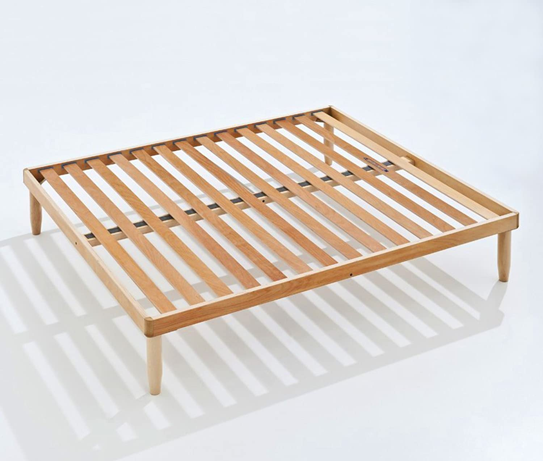 Baldiflex Lattenrost für Doppelbett, orthopdisch, Buchenholz, 140 x 190 cm Modell Apollo