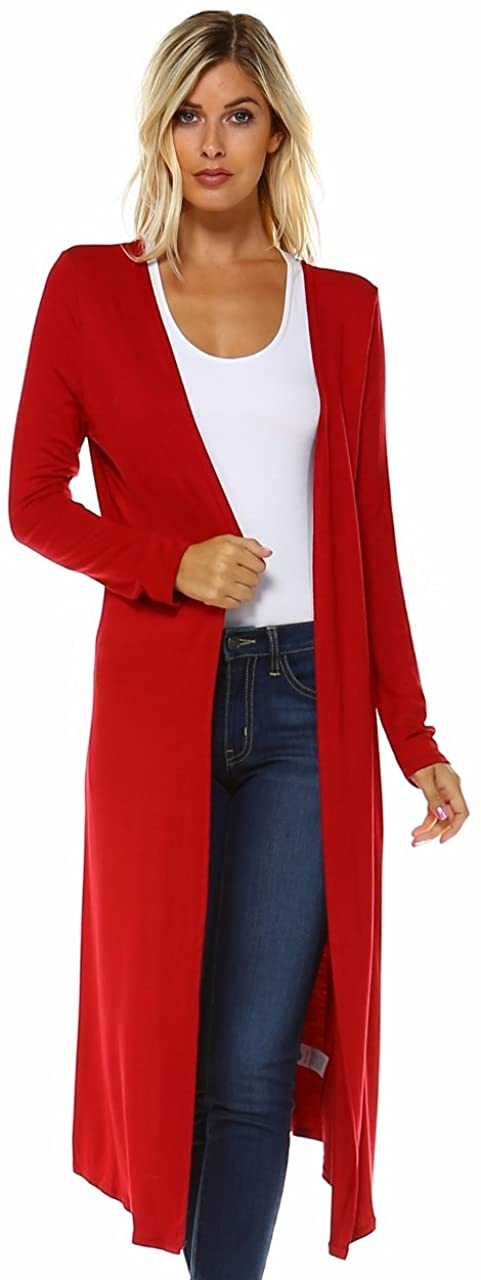 Issac Liev Isaac Trendy Extra Duster Lightweight Cheap super special price Soft Long Directly managed store