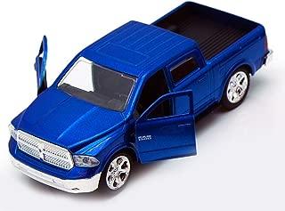 Jada Toys 2013 Dodge Ram 1500 Pickup Truck Collectible Diecast Model Car Blue