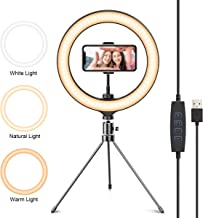 Aixpi 10 Ring Light With Stand