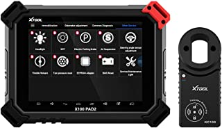 XTOOL X100 Pad2 Pro Key Immobilizer EPB/TPS/Oil Rest Full System Diagnostic Tool,1 Pack